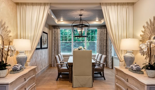 Elegant, private dining room at Anthology of Louisville in Louisville, Kentucky