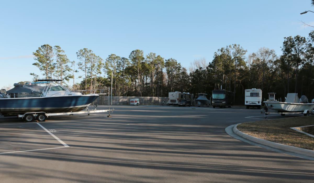 Boat Stroage at Midgard Self Storage in Wilmington, North Carolina