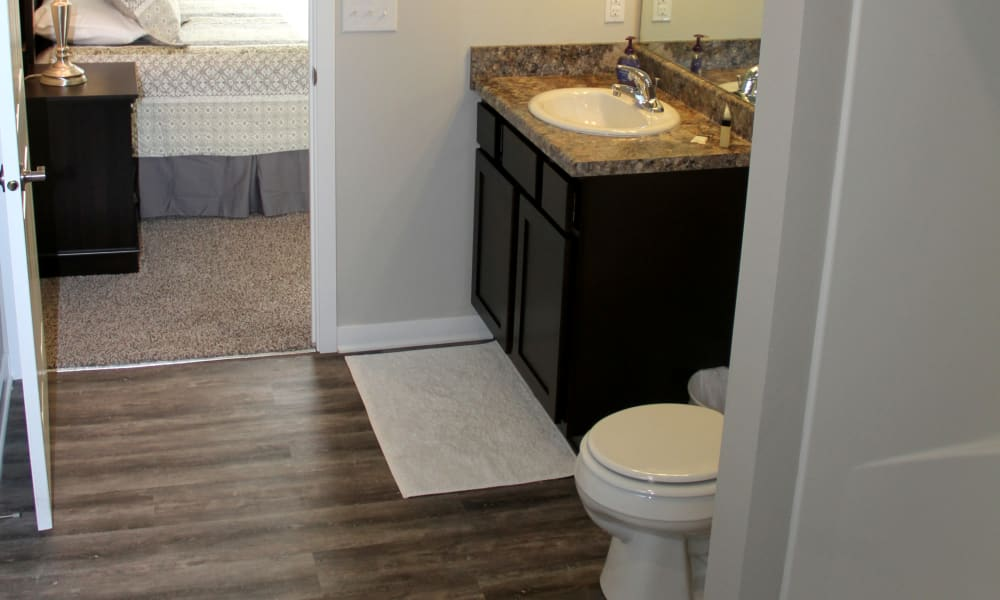 Bathroom at Johnston Gardens in Johnston, Iowa