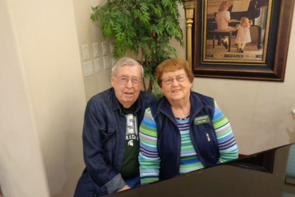 Rodney and Betty Miller at Summerville Estates Gracious Retirement Living in Summerville, South Carolina