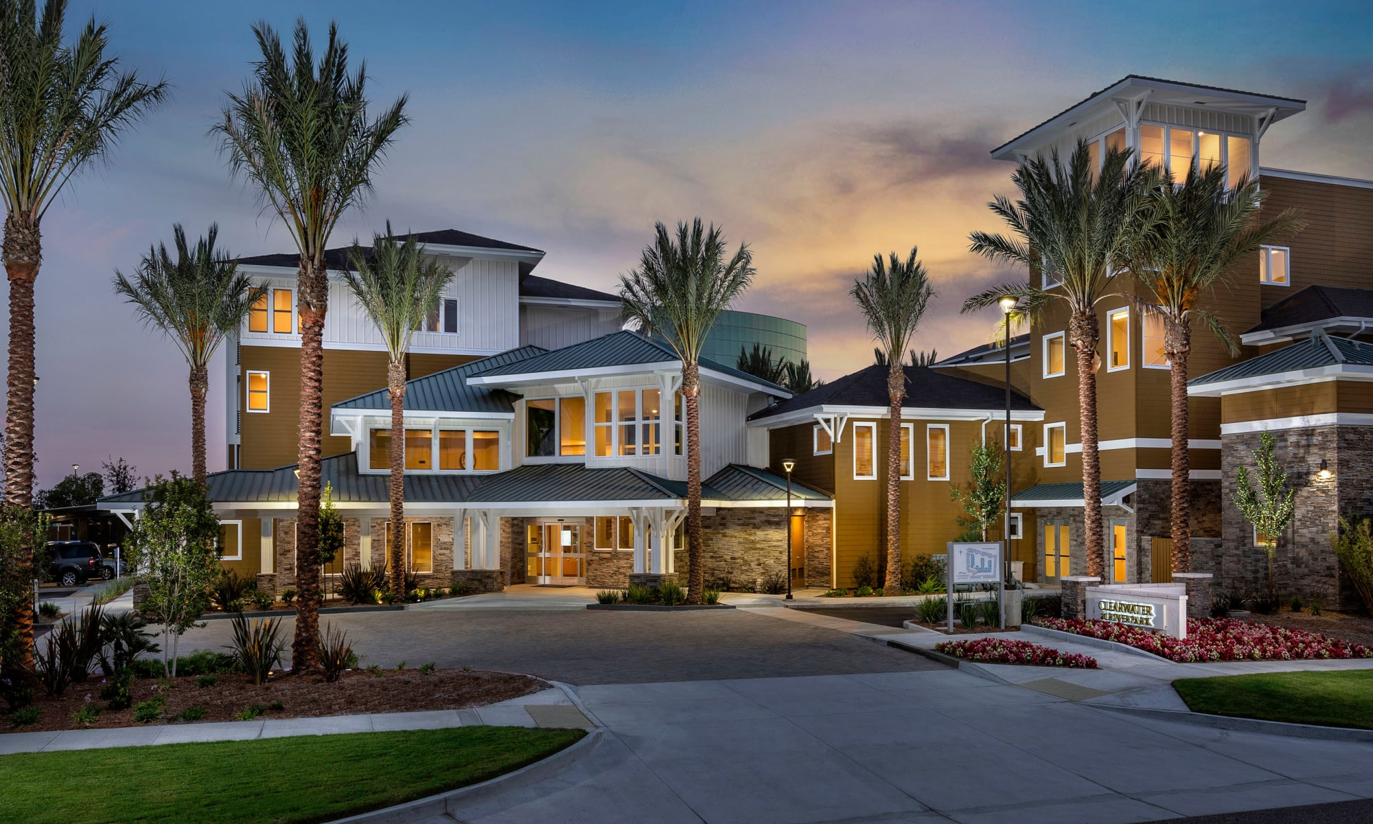 Apartments at Clearwater at Riverpark in Oxnard California
