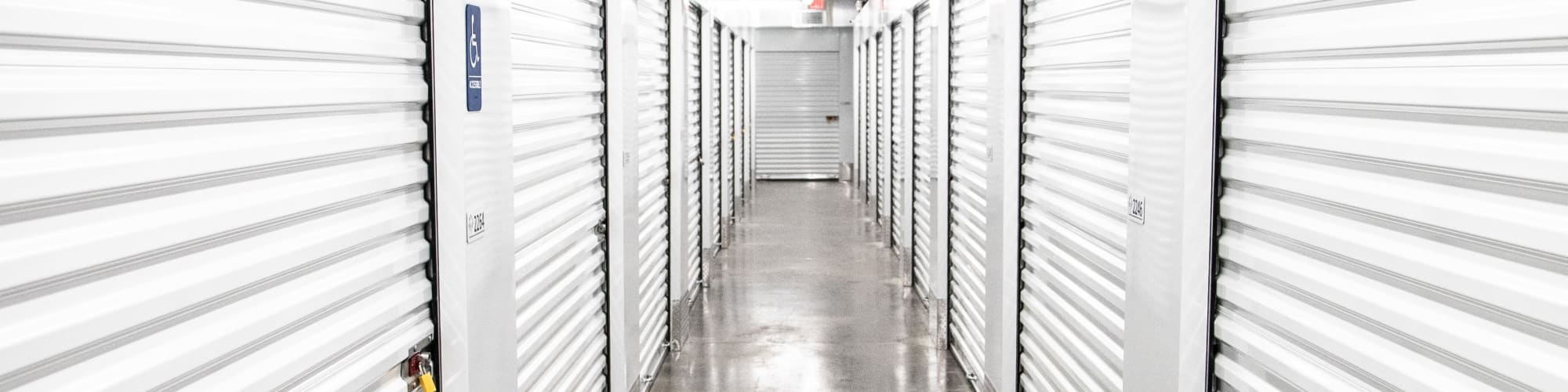 Climate-controlled storage at My Neighborhood Storage Center in Jacksonville, Florida