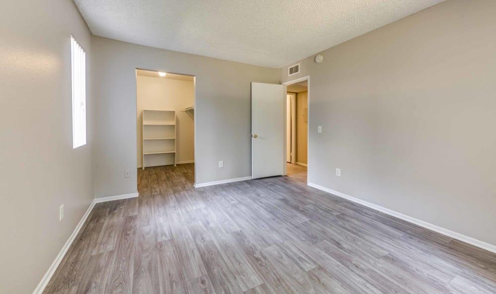 Bedroom at Creekside Village Apartment Homes