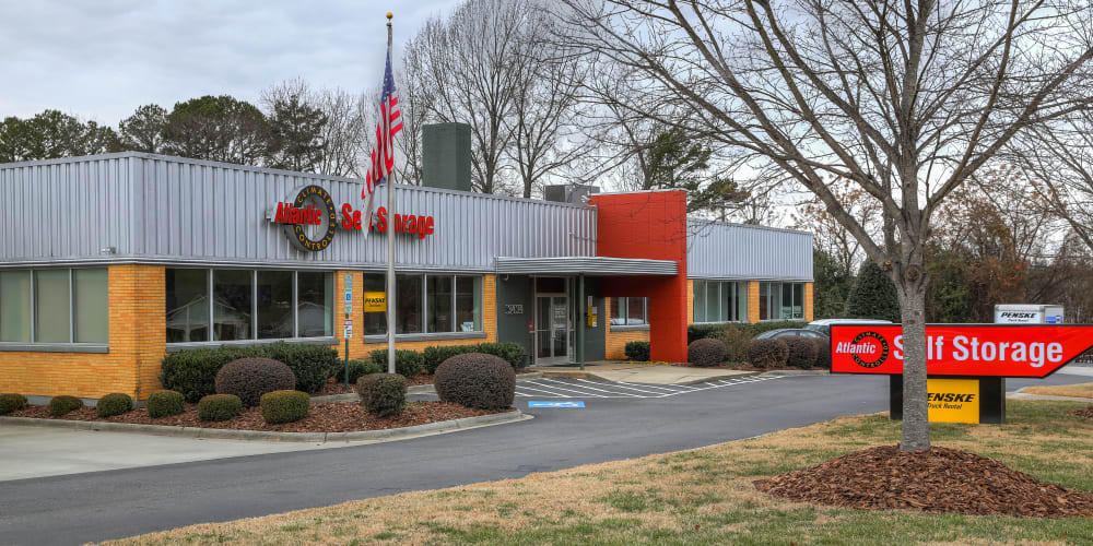 View the Atlantic Self Storage Annex in Charlotte, North Carolina