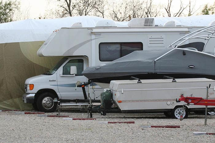 Advantage Storage -  Stonebrook in Frisco, Texas offers RV storage