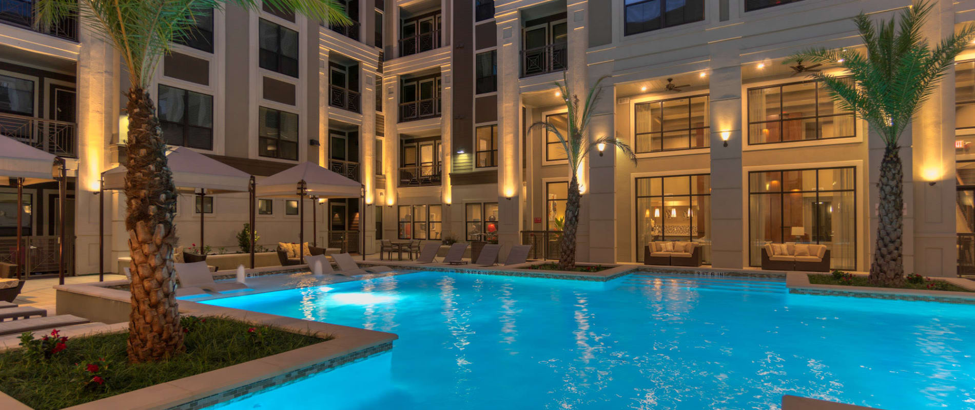 Downtown Houston, TX Apartments for Rent | The Hamilton ...