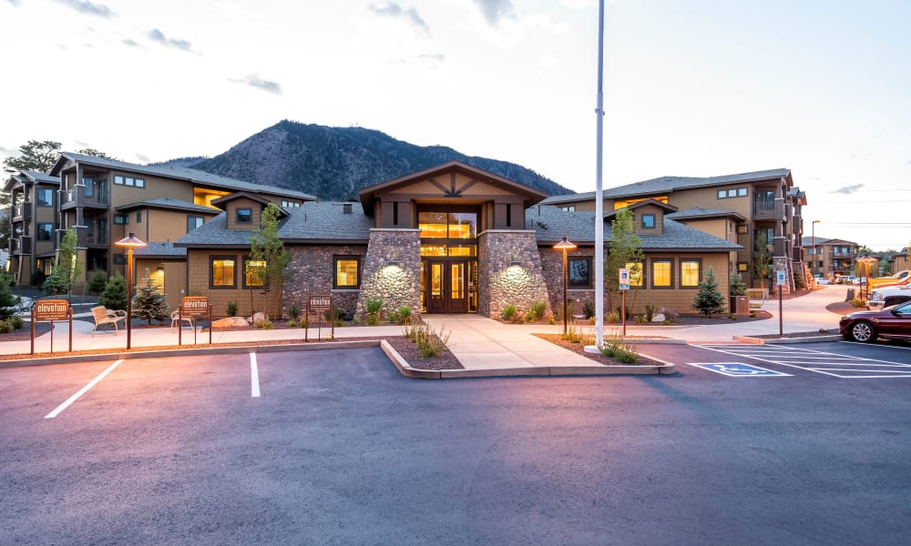 Clubhouse at Elevation Apartments