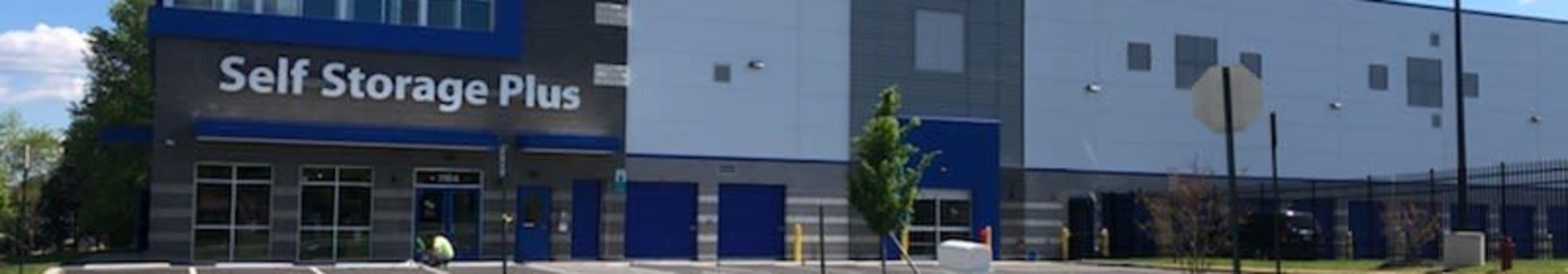 Self Storage Plus in Fredericksburg, Virginia offering climate-controlled storage