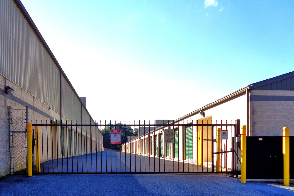 Gated entrance at Capital Self Storage in Harrisburg, PA