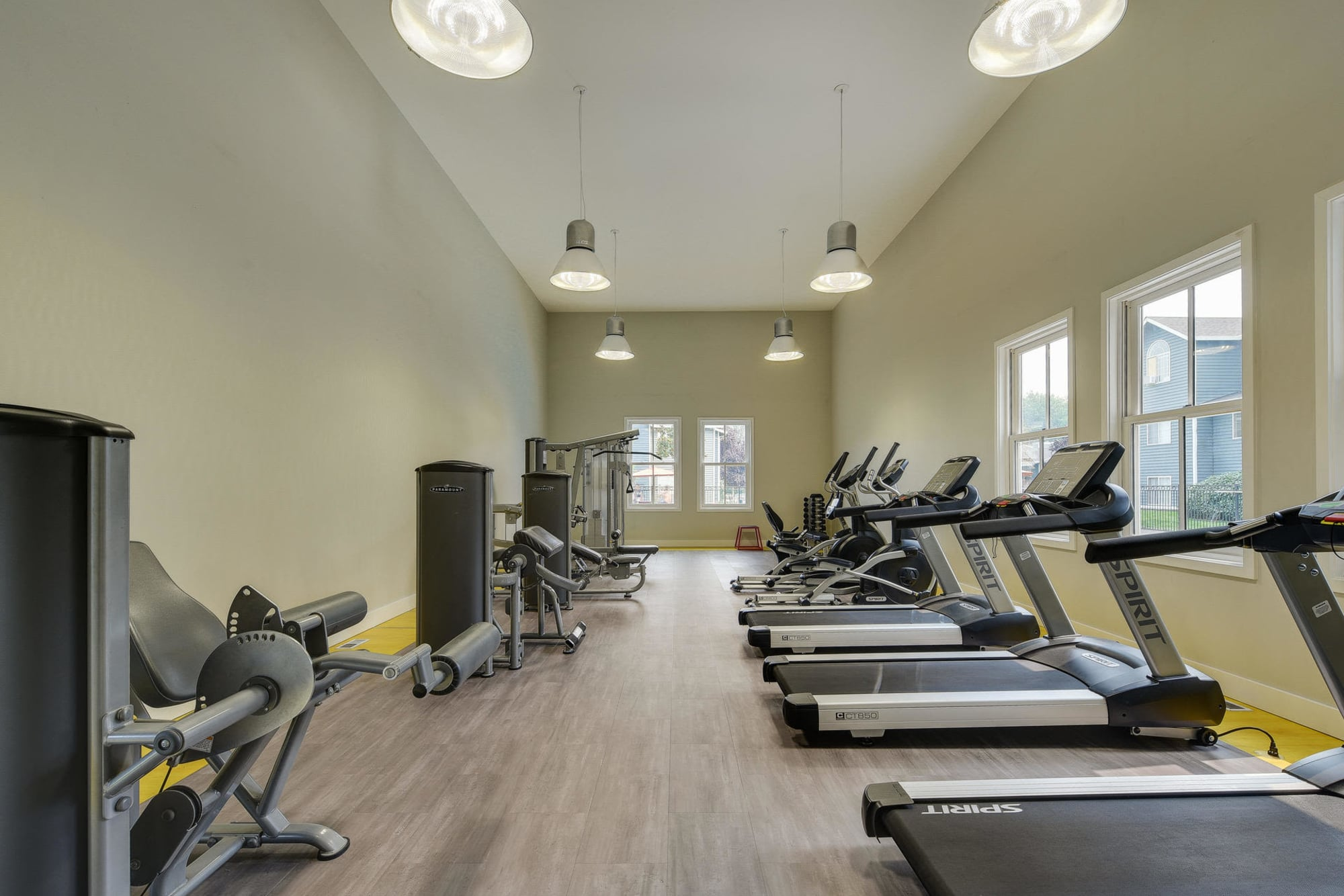 Fitness Center at Walnut Grove Landing Apartments in Vancouver, WA