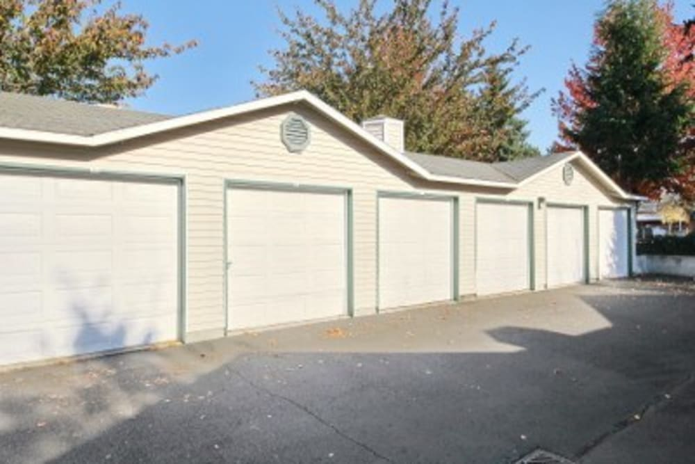 Private Garage At Marketplace Apartments In Vancouver WA