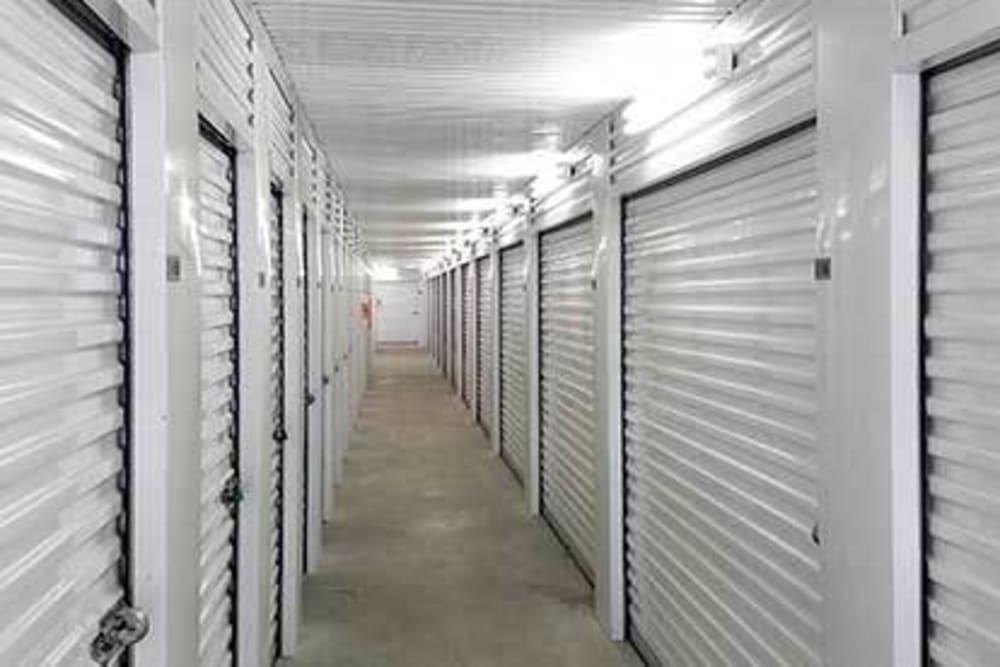 Climate controlled storage units at Storage Star Tomball in Tomball, Texas