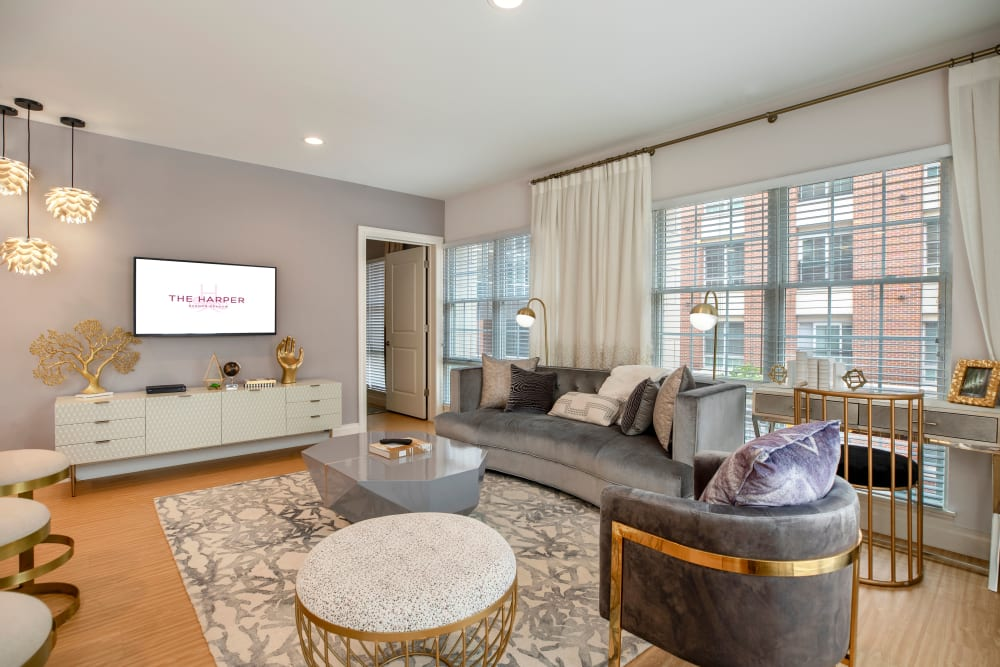 Beautiful floor plans at The Harper at Harmon Meadow in Secaucus