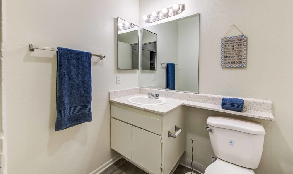 Bathroom at Creekside Village Apartment Homes