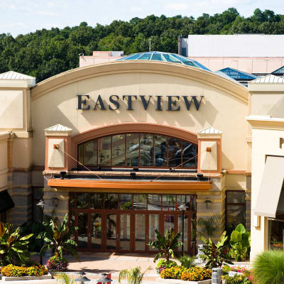 Entrance of Eastview Mall near The Elms of Bloomfield in Bloomfield, New York
