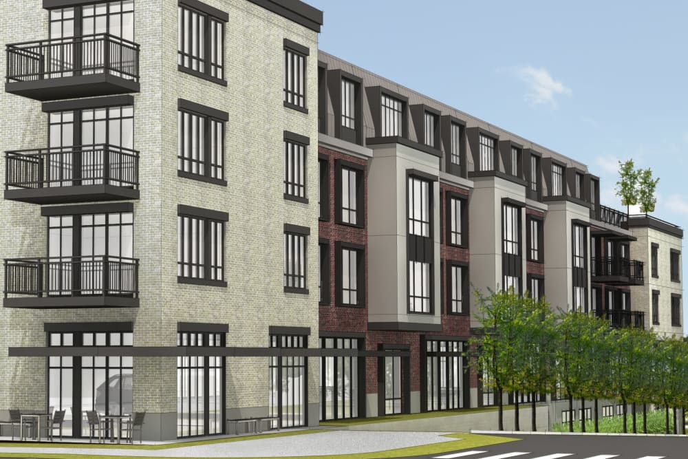 Rendering of our senior living facility in Columbia, South Carolina