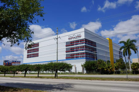 Exterior view at StorQuest Self Storage in Miami, FL