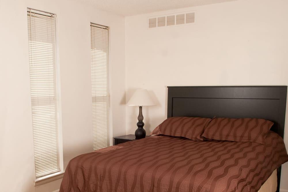 Comfortable bedroom at Pine Ridge in Lindenwold, New Jersey