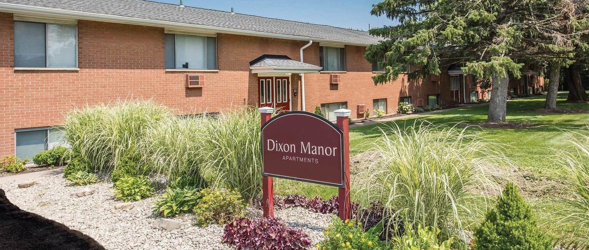 Apartments at Dixon Manor in Rochester, New York