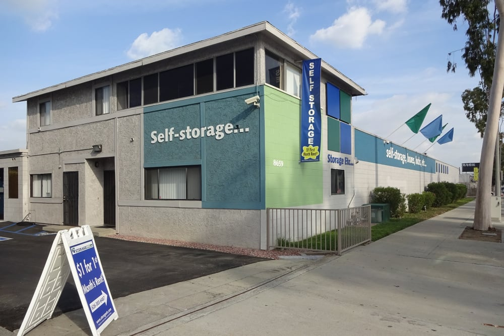 Self Storage Rental Office at Storage Etc... Rosemead