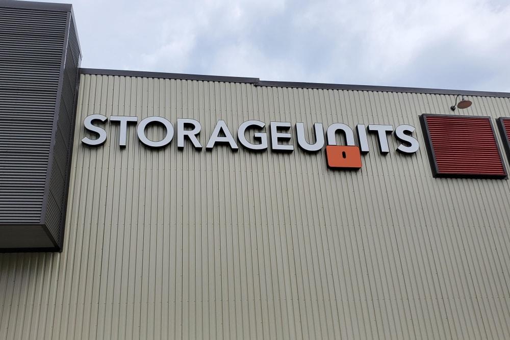 Storage units at Wheeler Road Self Storage