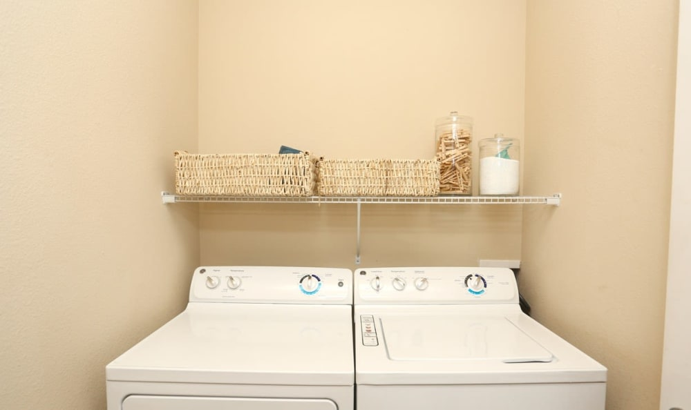 in-unit laundry at Springs at May Lakes in Oklahoma City, OK