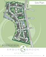 Printable floor plan at Arbor Brook in Murfreesboro, Tennessee