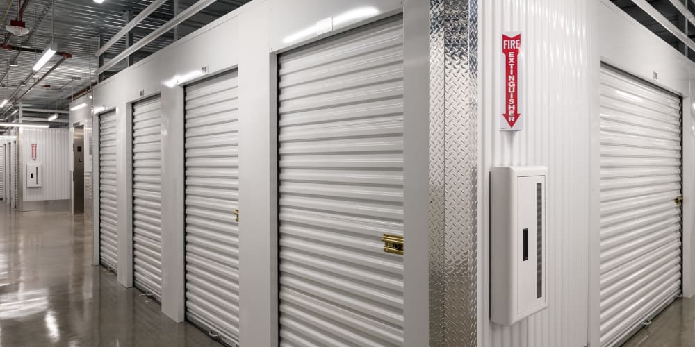 Large indoor units at StorQuest Self Storage in Federal Way, Washington