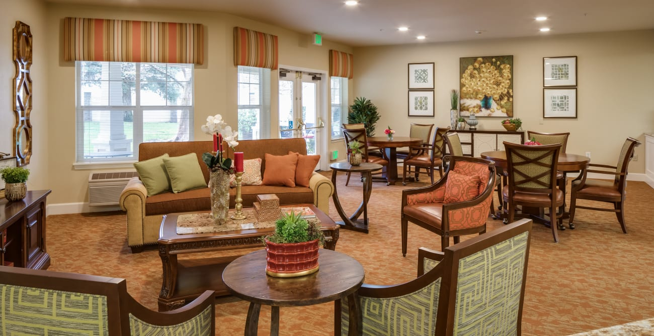 Common area at Dale Commons in Modesto, California