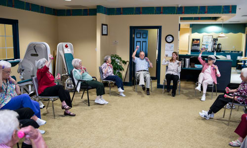 Azalea Estates of Fayetteville exercise program in Fayetteville, Georgia