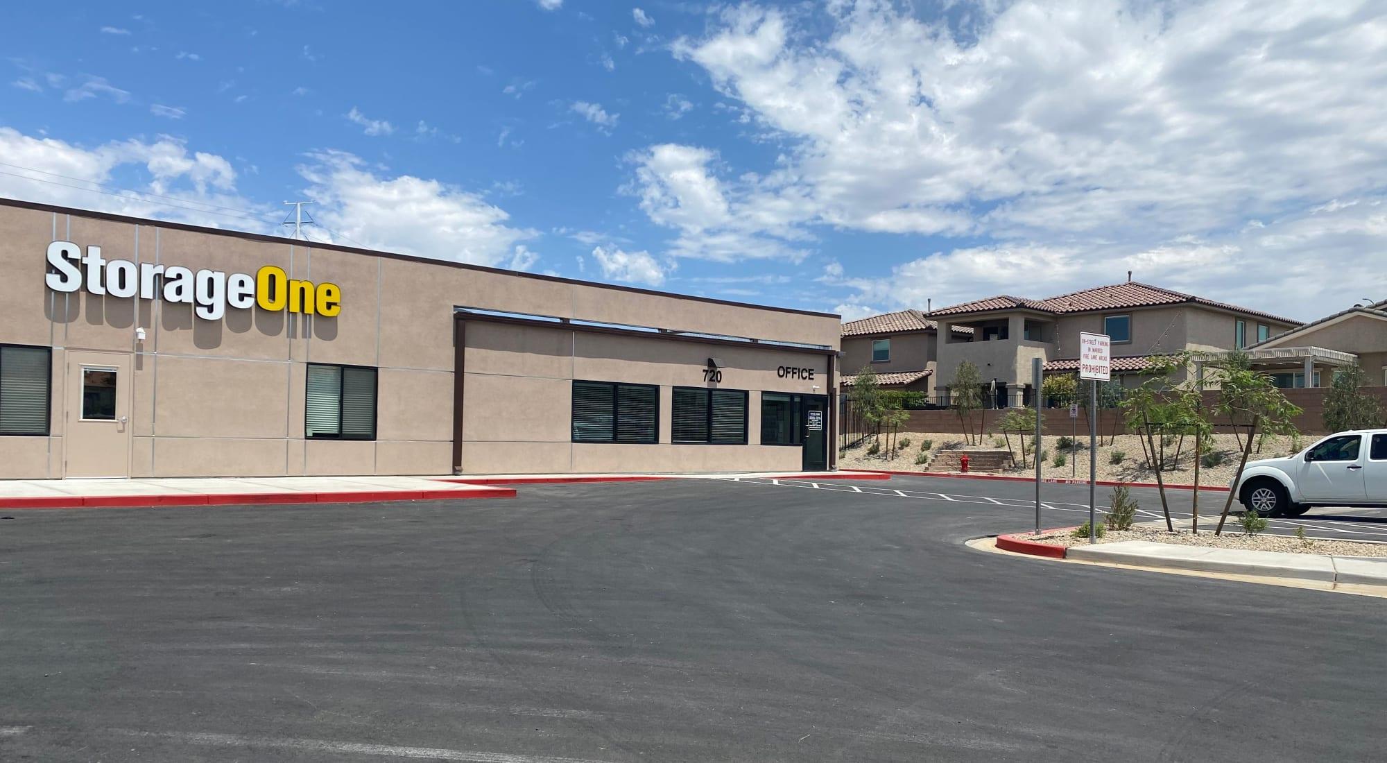 Self storage at StorageOne Horizon & Sandy Ridge in Henderson Nevada