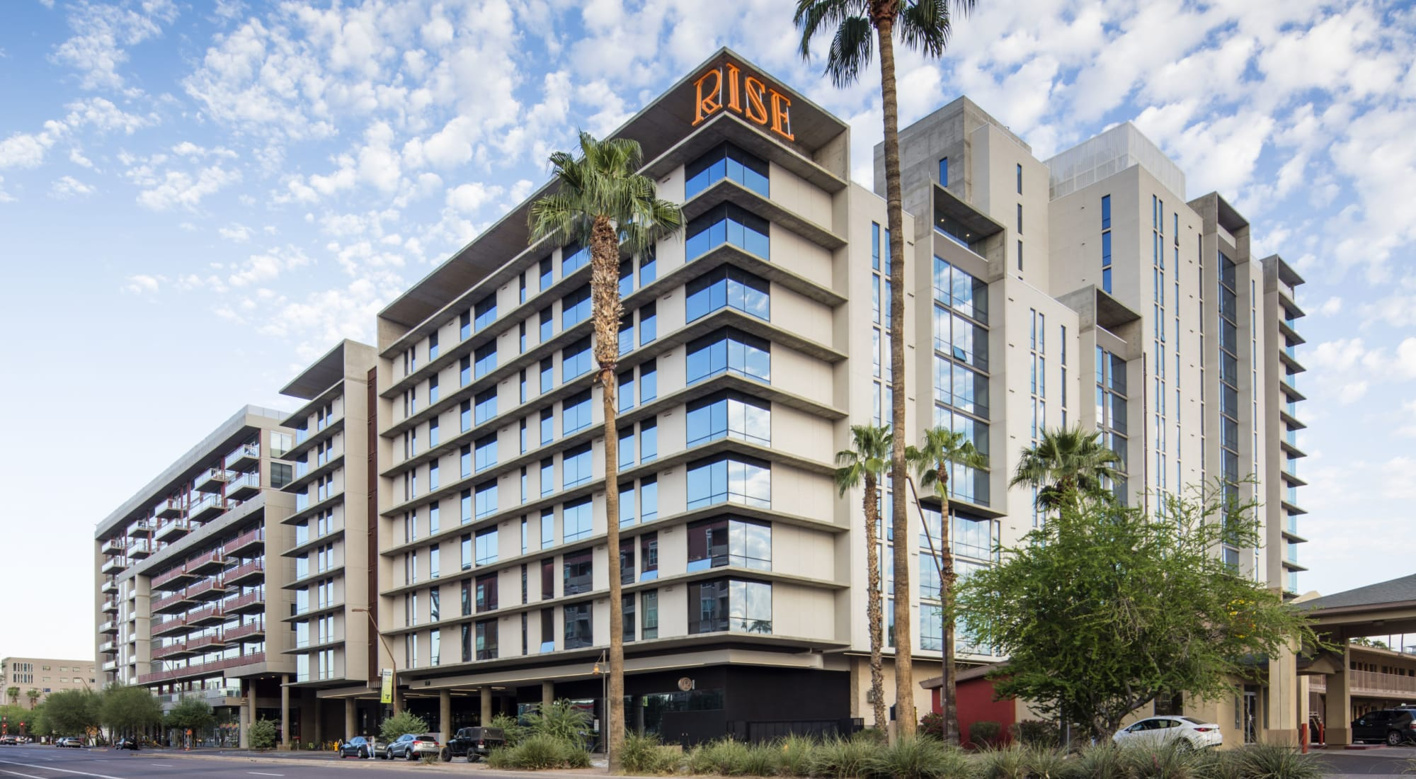 Apartments at RISE on Apache in Tempe, Arizona