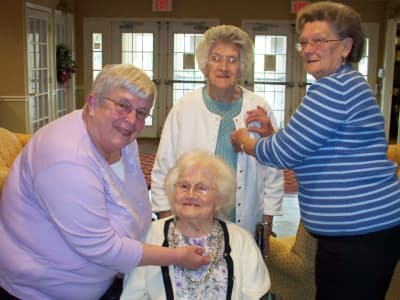 The caring team at Heritage Hill Senior Community in Weatherly, Pennsylvania