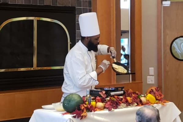 Chef Demo - French-style Omelets
