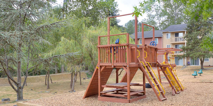 You and your children will love the on-site playground at The Boulevard at South Station Apartment Homes in Tukwila, WA