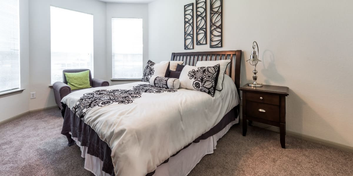 Bedroom at Marquis at Clear Lake in Webster, Texas