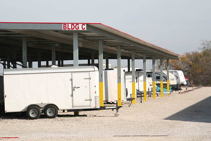 Advantage Storage -  Stonebrook offers a RV storage area in Frisco, Texas