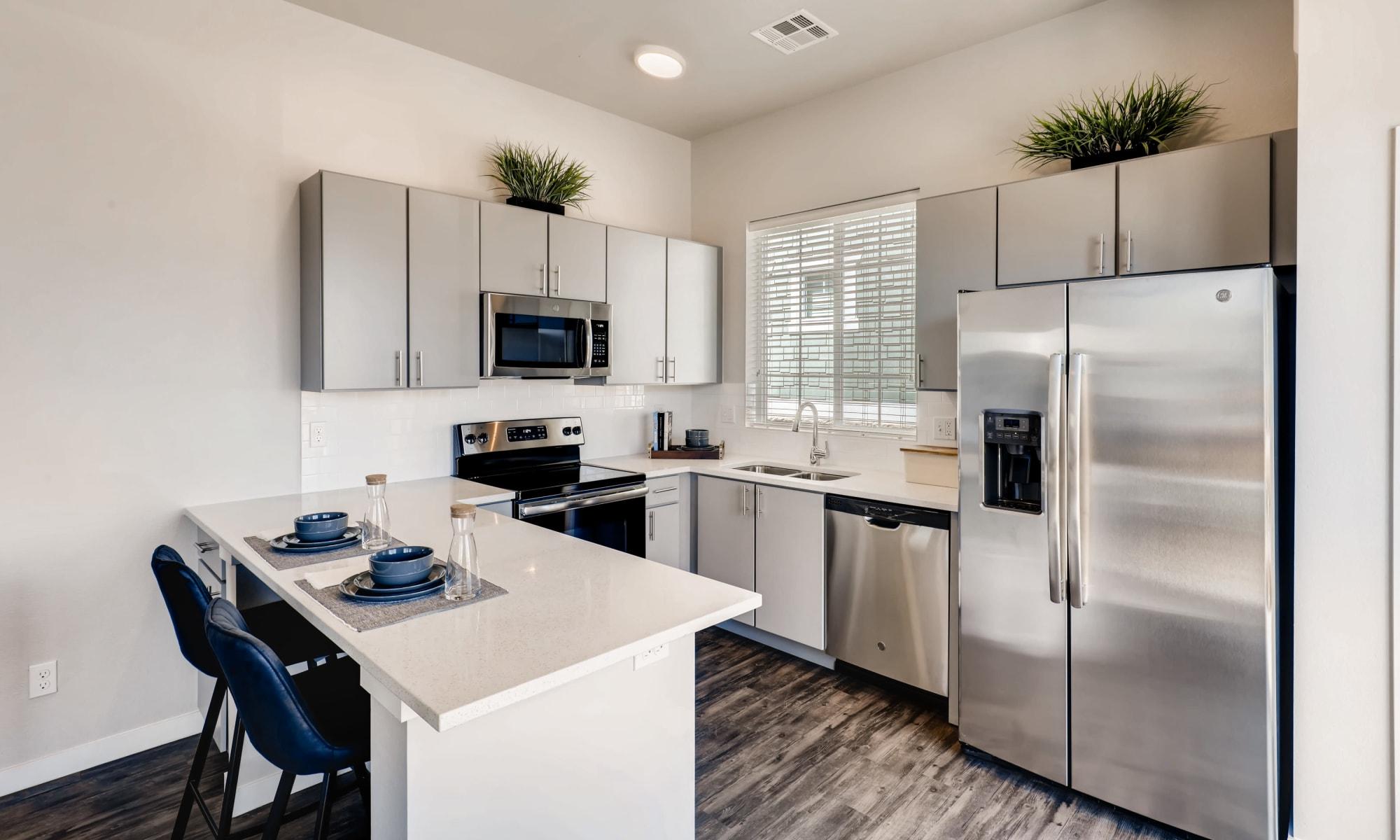 Apartment homes at Avilla Eastlake in Thornton, Colorado