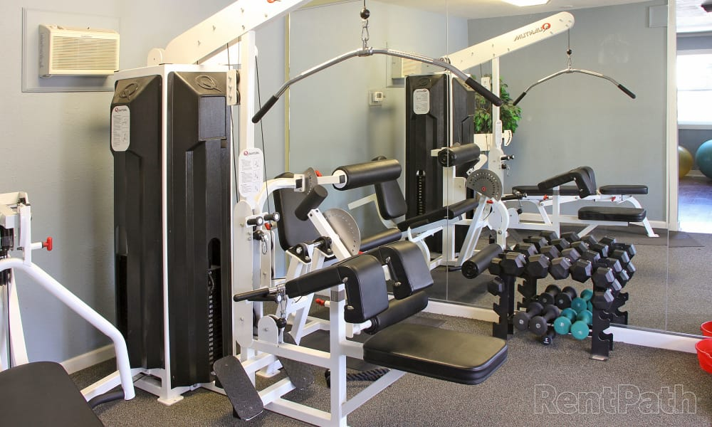 Our apartments in Bozeman, Montana showcase a modern fitness center