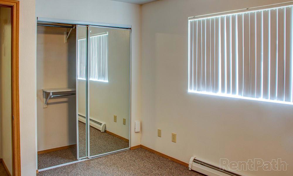 Our apartments in Bozeman, Montana showcase a spacious bedroom