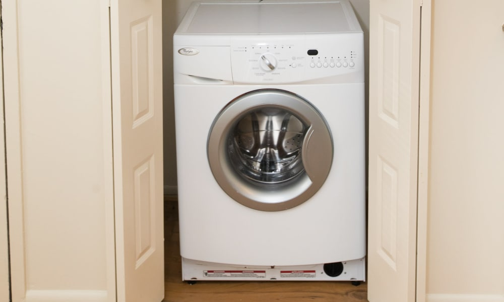 Newly updated laundry facility at apartments in Glen Burnie, MD