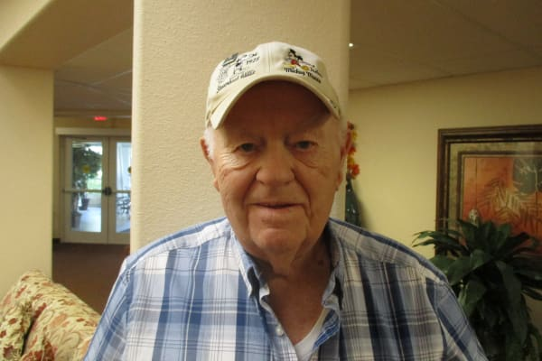 Howard Wisner at Salishan Gracious Retirement Living in Spring Hill, Florida