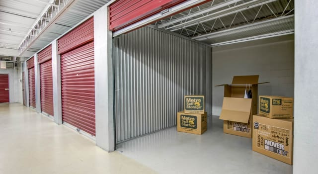 Climate controlled units at Metro Self Storage in Eden Prairie, MN