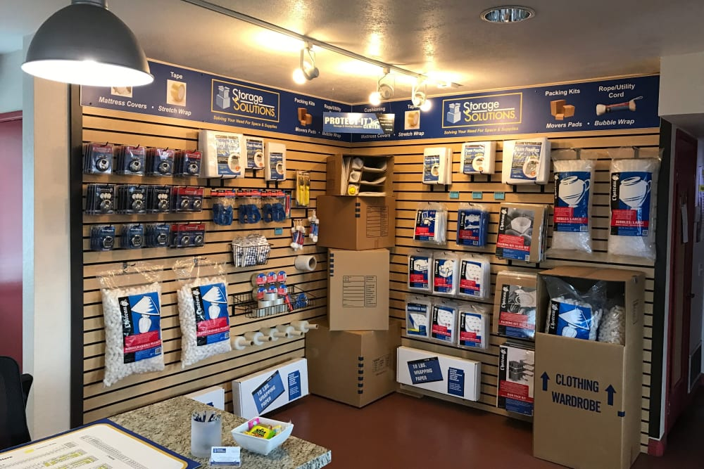 Storage supplies from Storage Solutions in San Marcos, California
