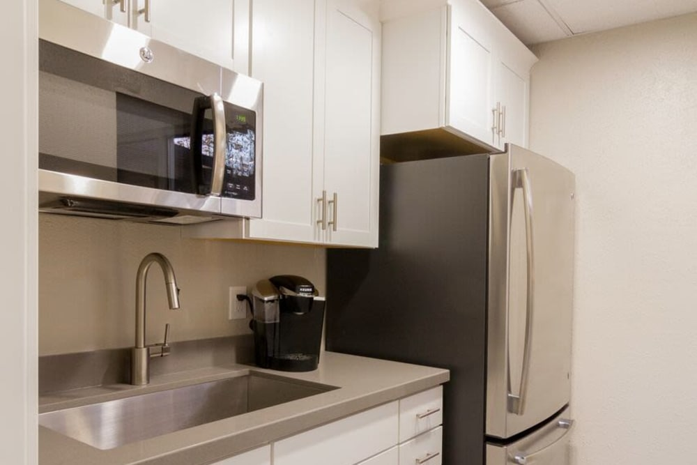 Apartment Interior At Wasatch Club Apartments