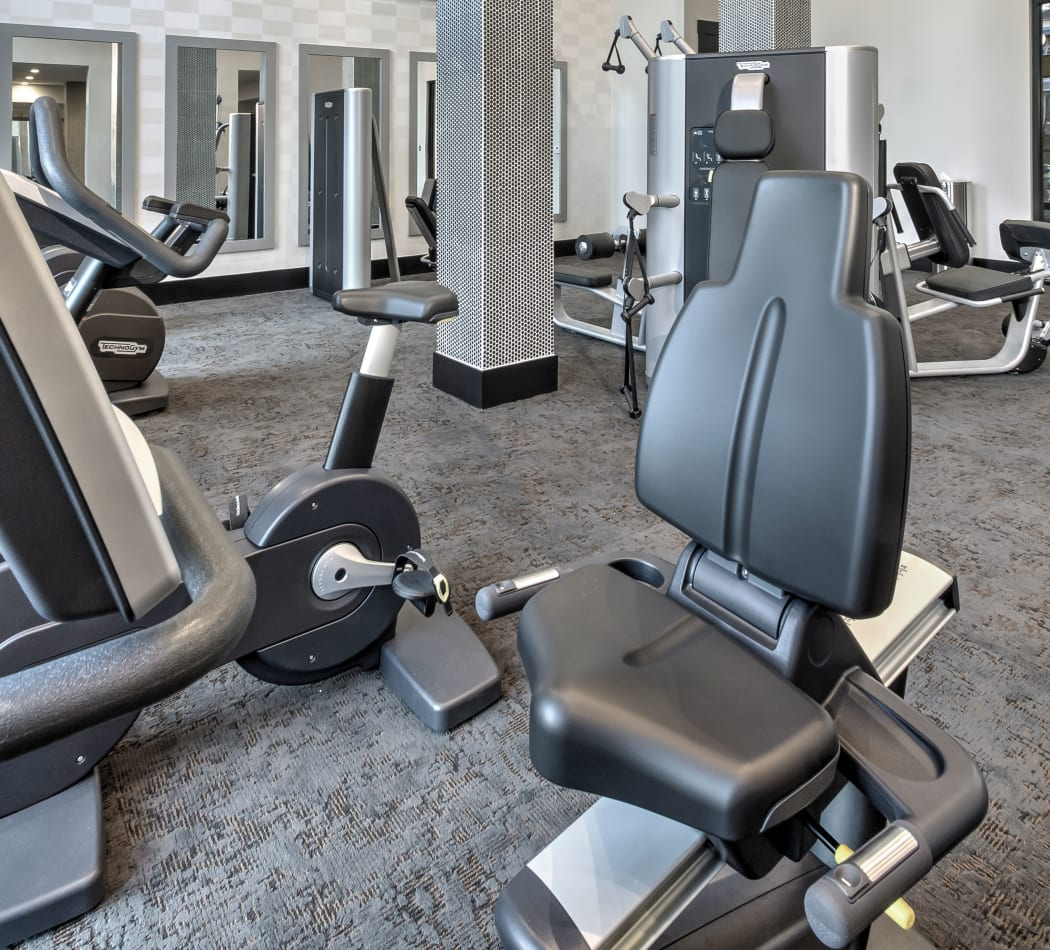 Gym at Juncture in Alpharetta