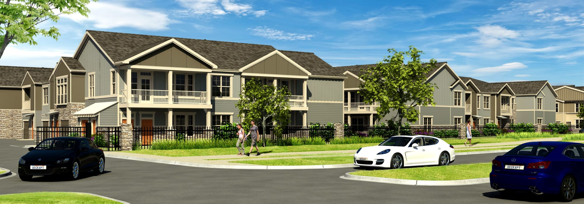 Apartments at Springs at Cobblestone Lake in Apple Valley, Minnesota