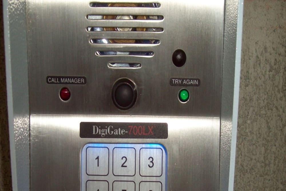 Code Entry at Storage Etc... Hancock St