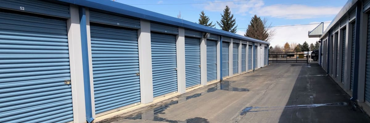 Boat and auto storage at KO Storage of Cheyenne in Cheyenne, Wyoming