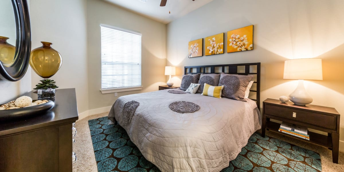 Bedroom at The Marq at Ridgegate in Lone Tree, Colorado